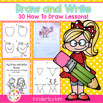 Kinderbykim's Draw and Write