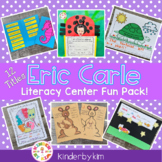 Kinderbykim's Eric Carle Themed Literacy Center Fun Pack