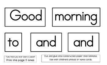 Kinderbykim's Good Morning Song