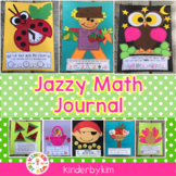 Kinderbykim's Jazzy Math Journal Packet