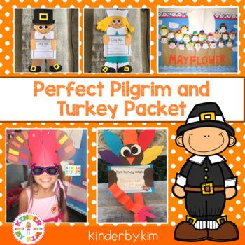 Kinderbykim's Perfect Pilgrim and Turkey Hat Patterns