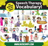 Kindercade Clipart: Speech Therapy Vocabulary! The Whole Magilla!