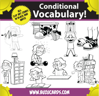 Kindercade: Conditional Vocabulary Clipart: Part One!
