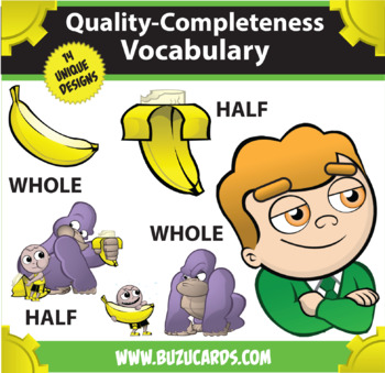Kindercade: Quality-Completeness Vocabulary Clipart!