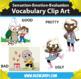 Kindercade: Sensation-Emotion-Evaluation Vocabulary Clipart!