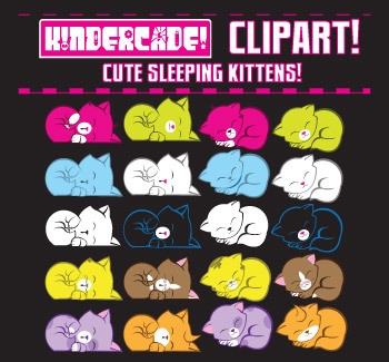 Kindercade: Sleeping Kittens Pack