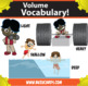Kindercade: Volume Vocabulary!