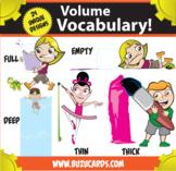 Kindercade: Volume Vocabulary!