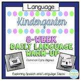 Kindergarten Common Core Daily Language Workout