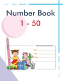 Kindergarden Number book 1-50 - Elementary teaching/Distan