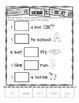 Kindergaren Common Core Sight Word 'Read It, Glue It, Trace It' Activity Sheets