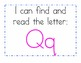 Kindergarten RTI and letter recognition worksheets