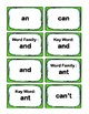 Kindergarten 0.66-0.99 Word Families Cards Aligned to Amer
