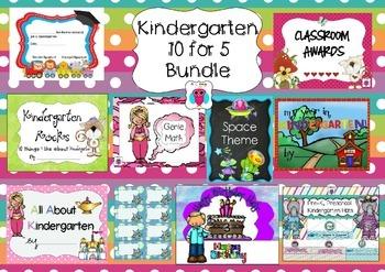Kindergarten 10 for 5 Bundle