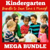 Kindergarten Bundle |  Kindergarten Back To School | Activ
