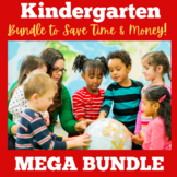Kindergarten Back to School Activities | Bundle