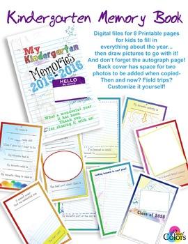 Kindergarten '15-'16 Memory Book