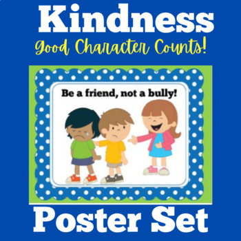 FREE Character Education Posters