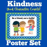 Kindness | Preschool Kindergarten 1st 2nd 3rd Grade | Poster Set