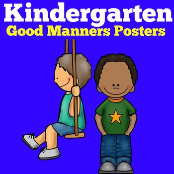 Preschool Kindergarten Classroom Management Posters