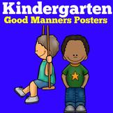 Good Manners | Preschool Kindergarten 1st Grade | Posters
