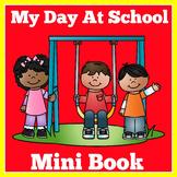 First Day of School   Preschool Kindergarten   Mini Book Activity