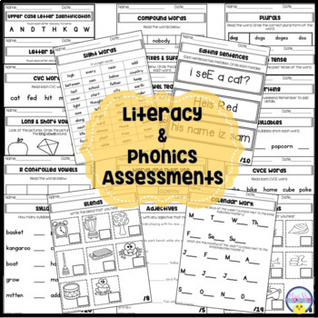Kindergarten,1st & 2nd Grade Customizable RTI & Progress Monitoring BUNDLE