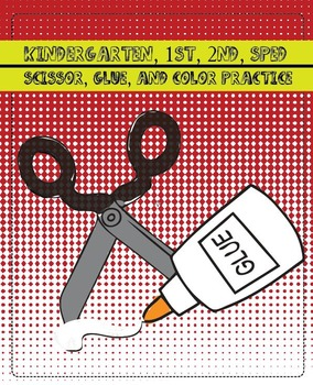 Kindergarten, 1st, 2nd, SPED, scissor, glue, color training, FIRST & SECOND WEEK