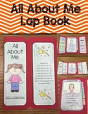 Kindergarten, 1st, 2nd grade All About Me Lapbook!
