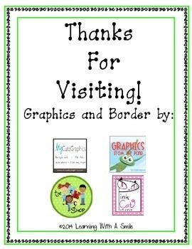 Kindergarten & 1st Grade Freebie ~ Initial Sounds ~ M-S-T ~ Review