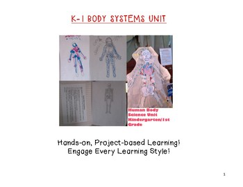 Kindergarten-1st Grade Human Body Unit
