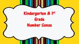 Kindergarten & 1st Grade-Number Sense Vocabulary