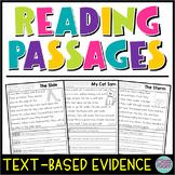 Kindergarten & 1st Grade Reading: Text-Evidence Passages SET 3