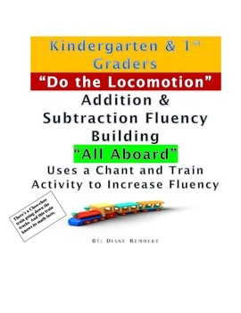 Kindergarten & 1st Graders Build Fact Fluency Through Train Chant and Movement
