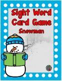Kindergarten- 1st grade- Special Ed. - Sight Word Card Gam