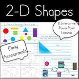 Kindergarten 2-D Shapes