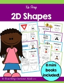 Kindergarten 2D Shape Booklets