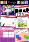 Kindergarten 2D Shapes Smart Notebook and Unit of Work Bundle 1