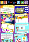 Kindergarten 2D Shapes Smart Notebook and Unit of Work Bundle 2