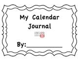 Kindergarten-2nd Daily Calendar Journal
