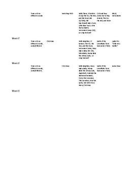 Kindergarten 2nd Nine Weeks Curriculum Map Vocal Music