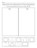 Kindergarten 3D Shape Set K.G.3