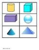 Kindergarten 3D Shape Sort Game