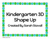 Kindergarten 3D Shape Up Game