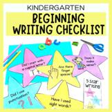 Kindergarten 5 Star Writing Display Rubric- Beginning Writ