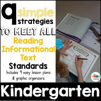 Kindergarten: 9 Simple Informational Text Strategies to meet the Standards