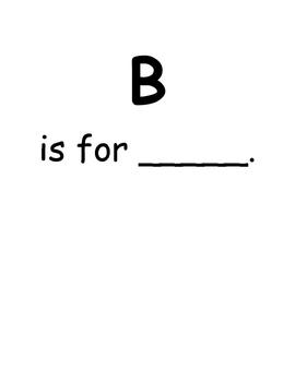 Kindergarten ABC Book
