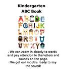 Kindergarten ABC Book (Lucy Calkins RUOS)