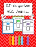 Kindergarten ABC Journal
