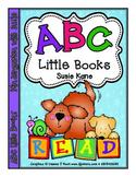 Kindergarten ABC Little Books